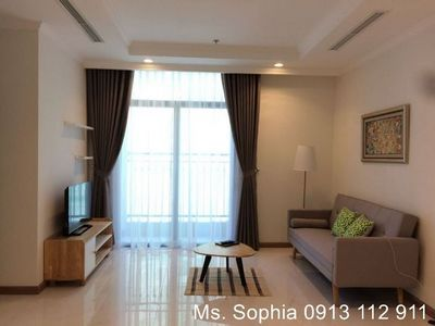 Apartment fully funished, balcony, high floor at Binh Thanh Dist