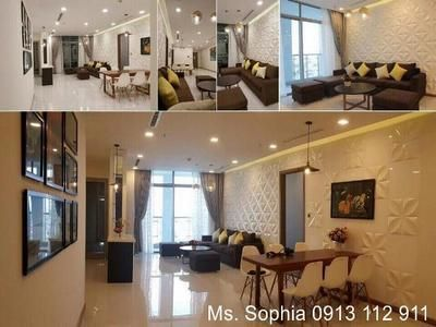 Luxurious apartment, easy to the center, facing to the river at Binh Thanh Dist