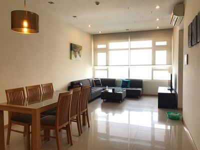 For rent fully furnished apartment, river and district 1 view