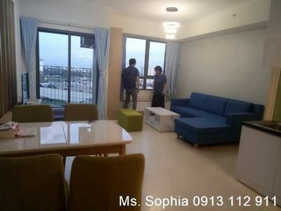Masteri Thao Dien, new apartment for rent 2BRs, full furnished.