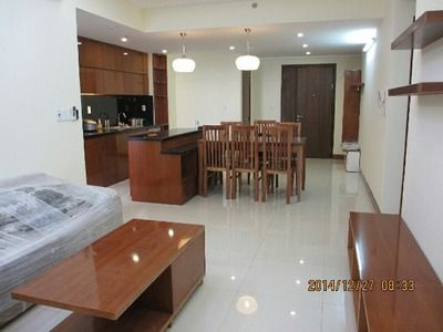 River view apartment – balcony – fully furnished - Thao Dien area