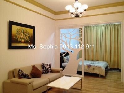 Apartment close to the center district 1, gym, pool, full aminities inside for rent
