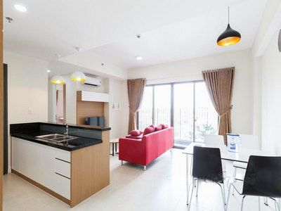 Masteri Thao Dien in district 2 for rent corner apartment, modern furniture