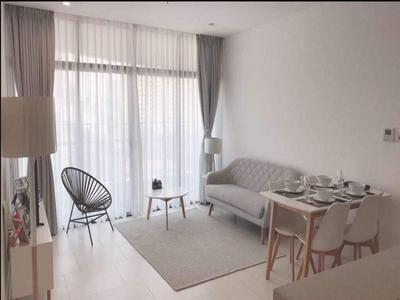 One-bedroom apartment, modern design in City Gardern for rent