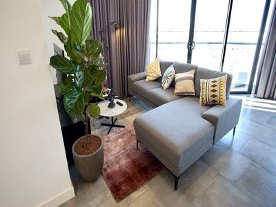 Cozy apartment in City Garden, high-end furnished for rent
