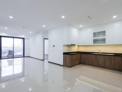 Unfurnished 3-bedroom apartment for rent in Opal Saigon Pearl