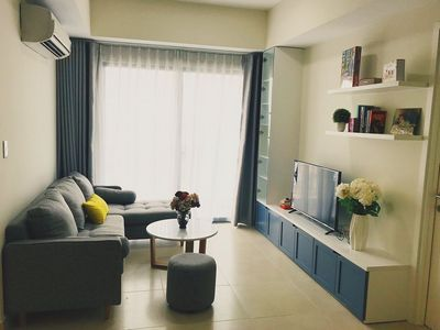 Masteri Thao Dien for rent 2-bedroom apartment, high-end furnished