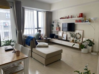 Cozy and bright apartment in Masteri Thao Dien for rent