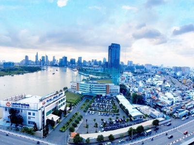 Sunwah Pearl apartment, Saigon river view, 2 bedrooms