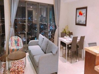 Masteri Thao Dien apartment for rent Landmark 81 view