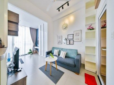 Cozy and new serviced apartment for rent in Thao Dien area