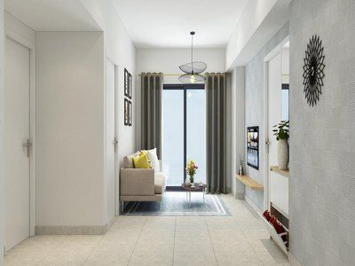 Brand new apartment with 2 bedrooms in Thao Dien area