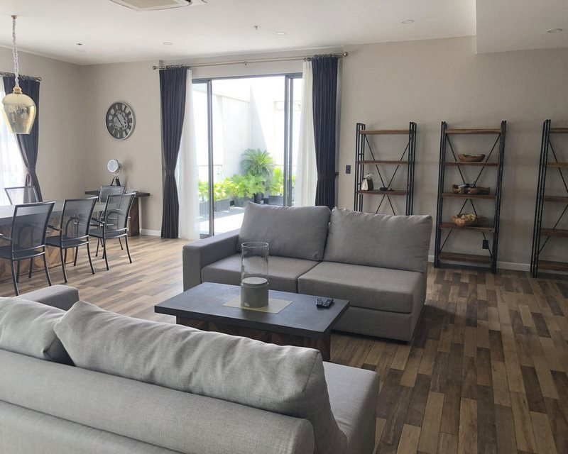 Penthouse Masteri Thao Dien for rent