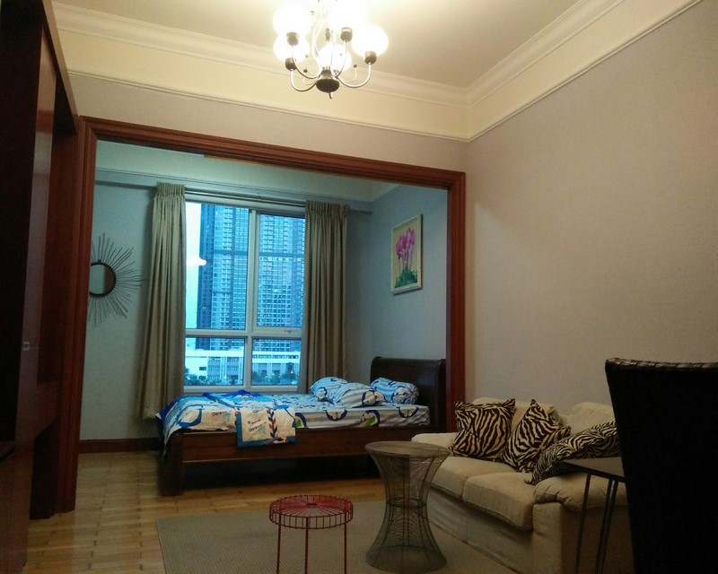 Quiet studio, furnished in The Manor, Binh Thanh for rent