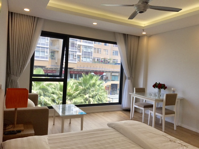 Serviced apartment Saigon Pearl building in Binh Thanh District